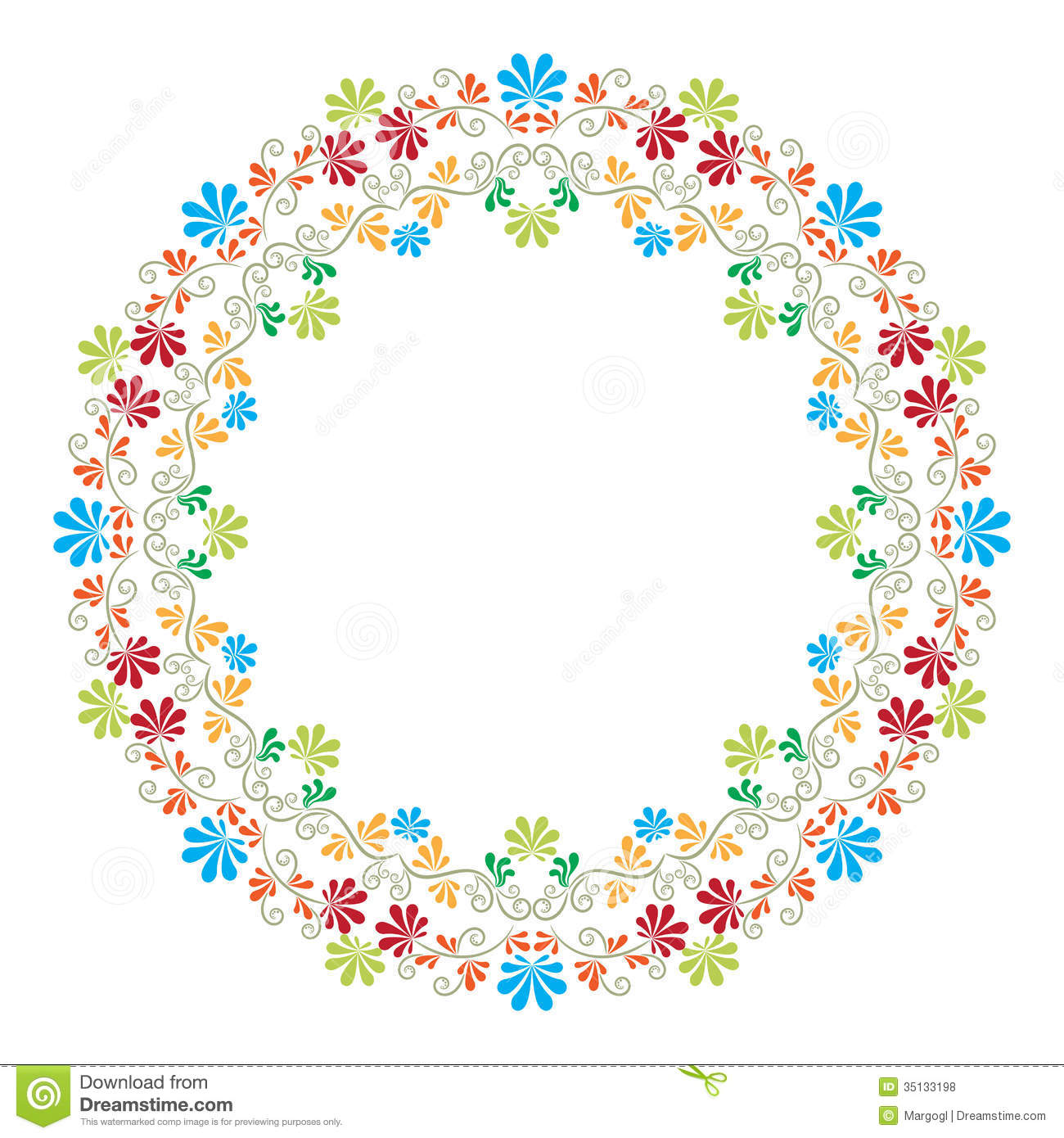 Ring Ornament Vector Royalty Free Stock Photos Image