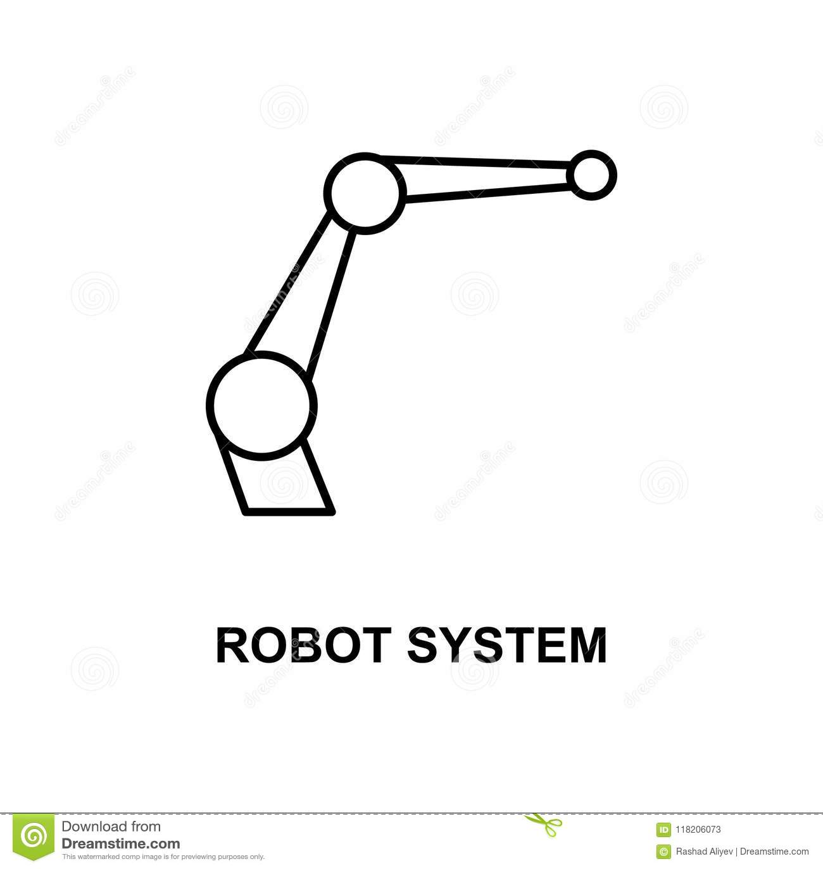 Icon Set Of Autonomous Car Concept Cartoon Vector