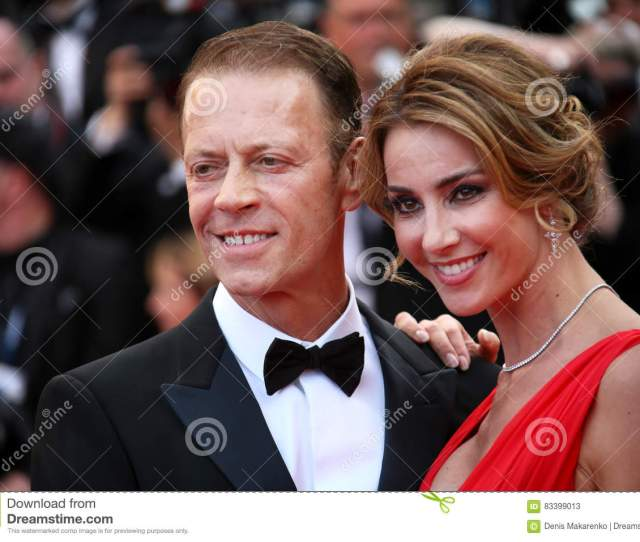Cannes France  Rocco Siffredi And Rozsa Tassi Attend The Screening Of Money Monster At The Annual 69th Cannes Film Festival