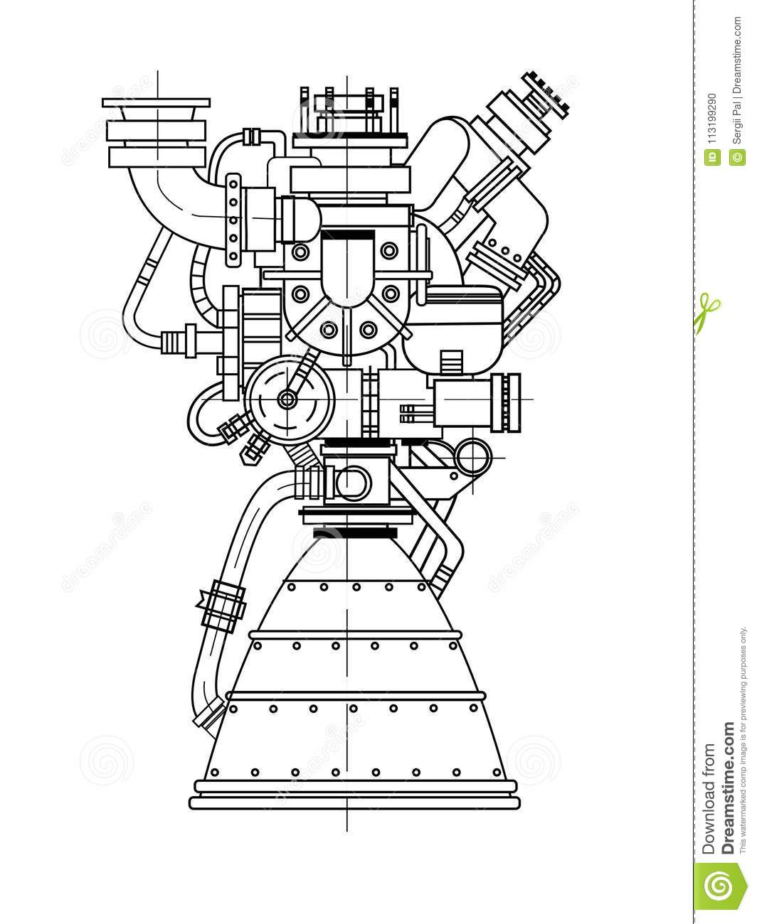 Rocket Engine Design It Can Be Used As An Illustration