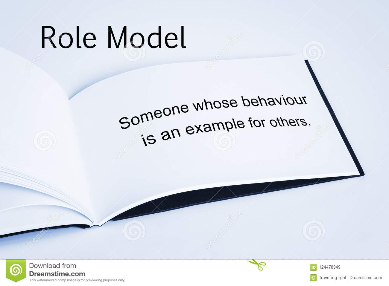 Role Model Concept Stock Image Image Of Mentors Example