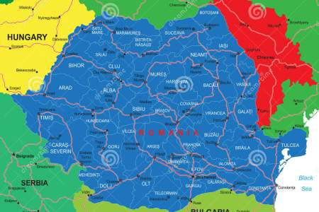 romania attractions map flag romania map romania map » [HD Images ...