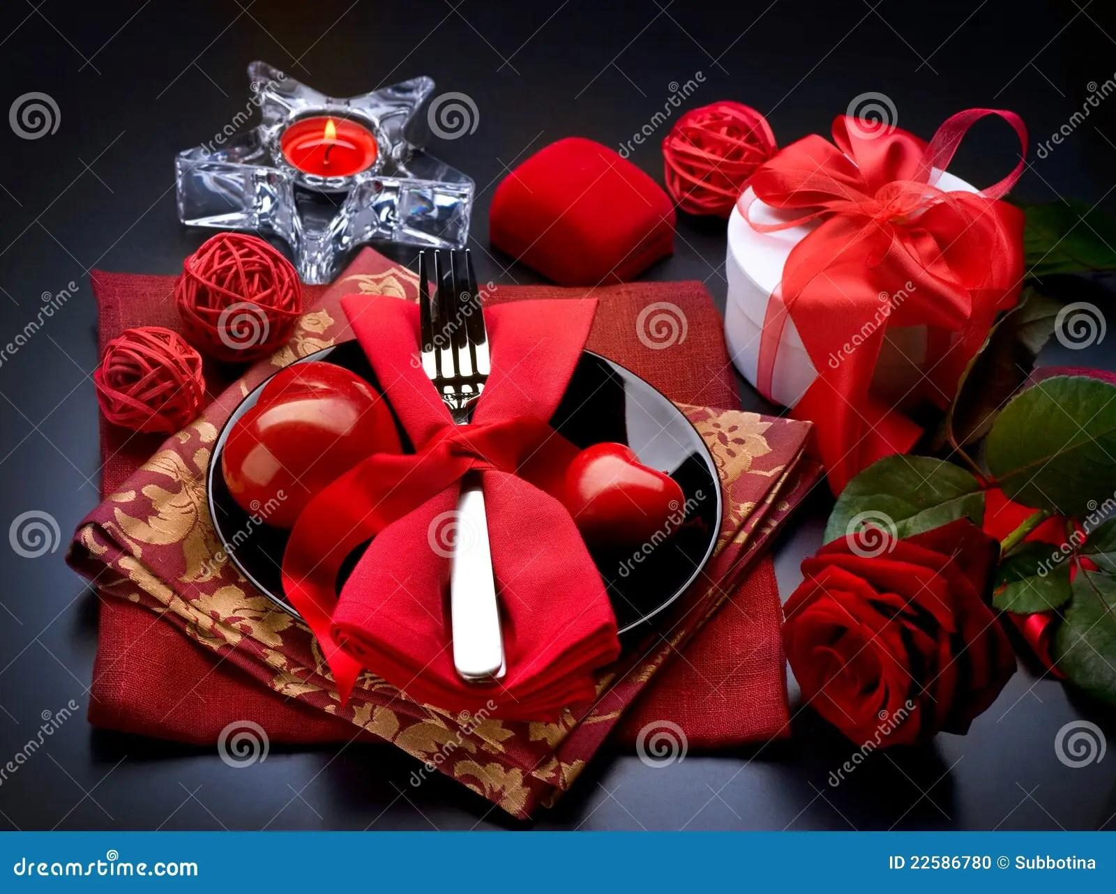 Romantic Dinner Valentines Day Stock Photo Image 22586780