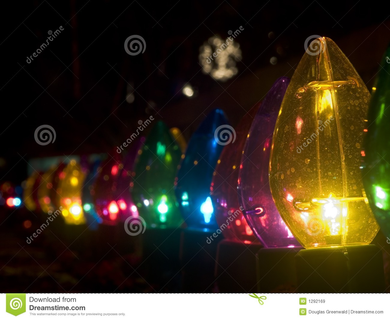 Christmas Lights Big Bulbs