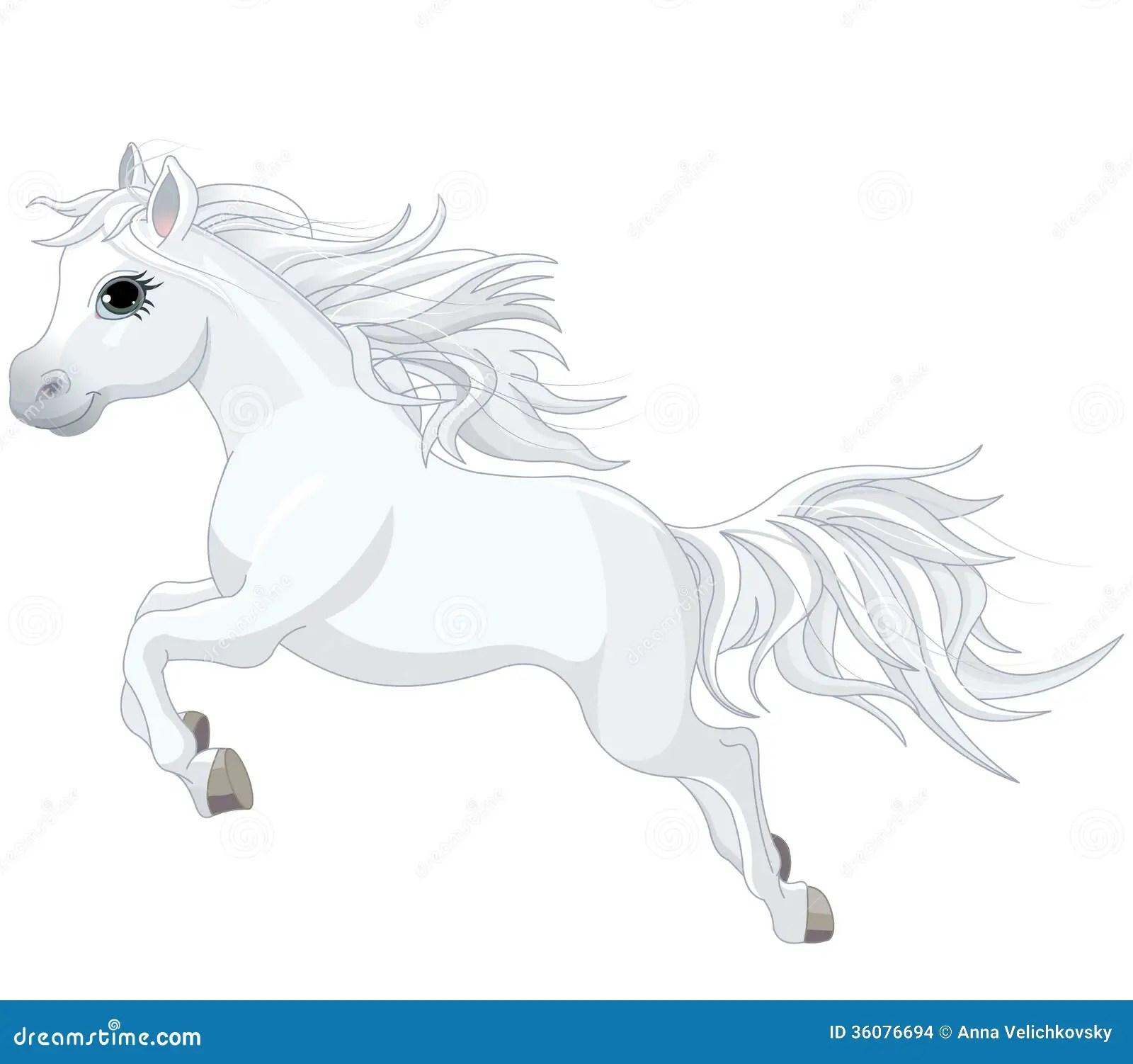 Running Horse Stock Vector Illustration Of Purebred