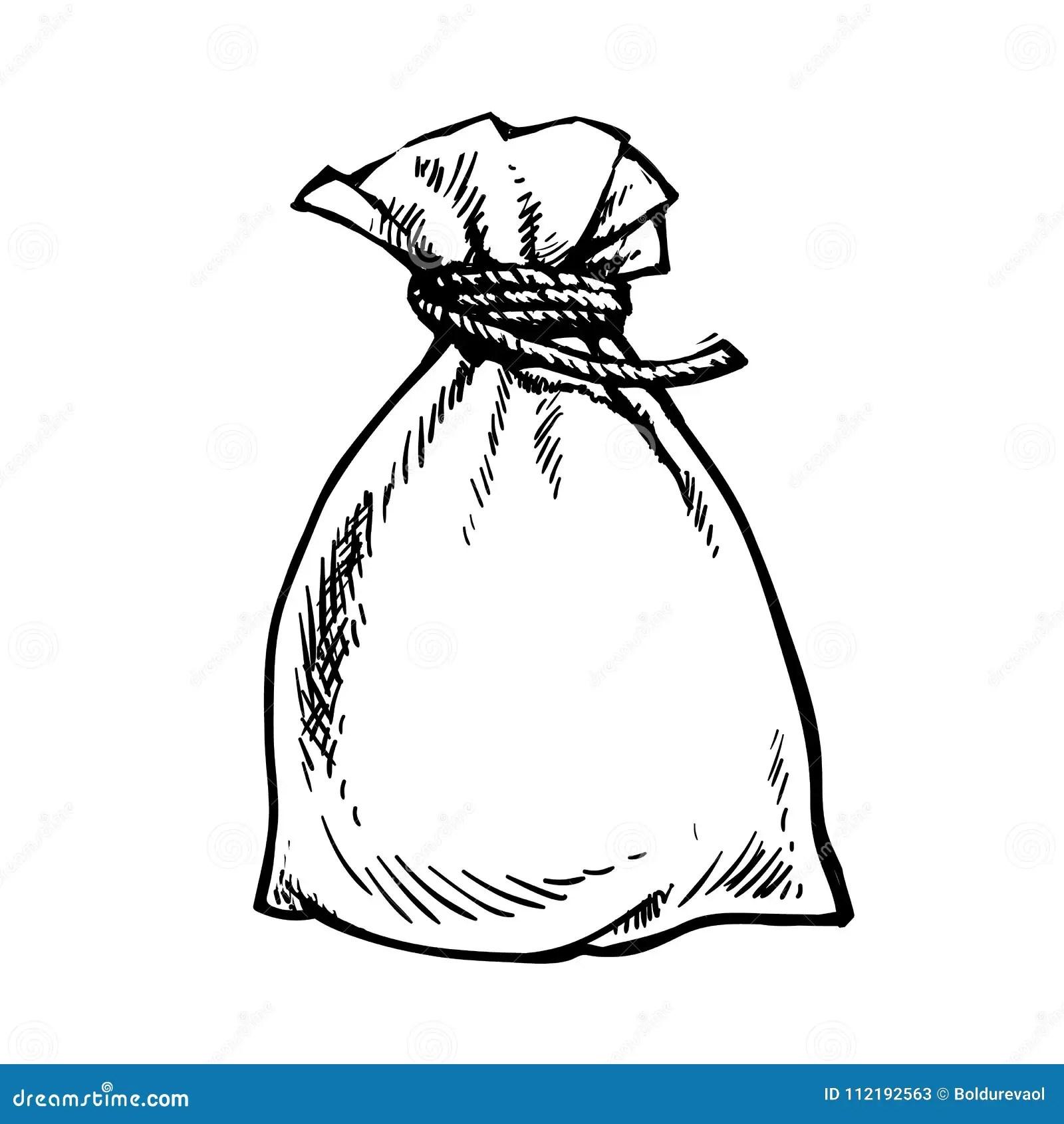 Sack Of Money Stock Vector Illustration Of Harvest