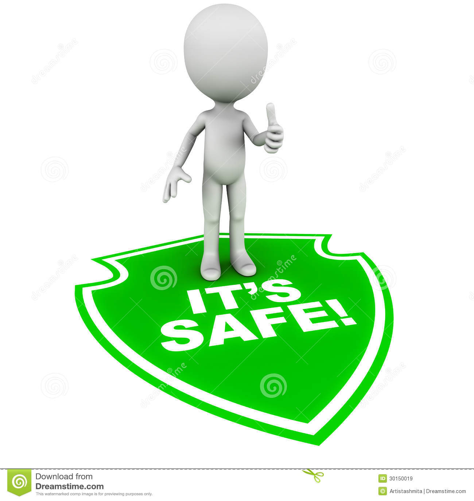 It S Safe Stock Illustration Illustration Of Sell Feel