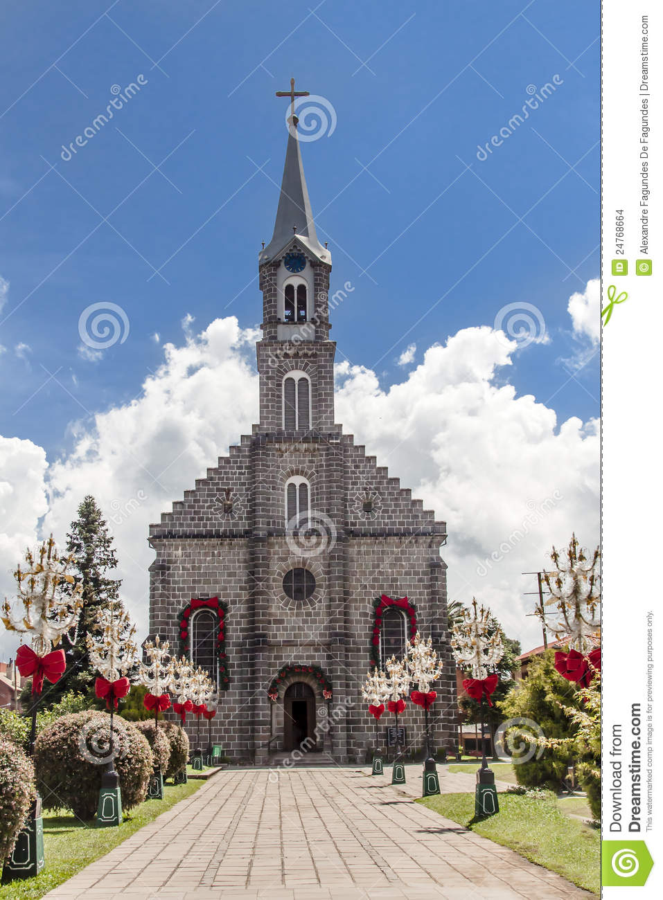 Saint Peter Church Gramado Brazil Stock Images Image