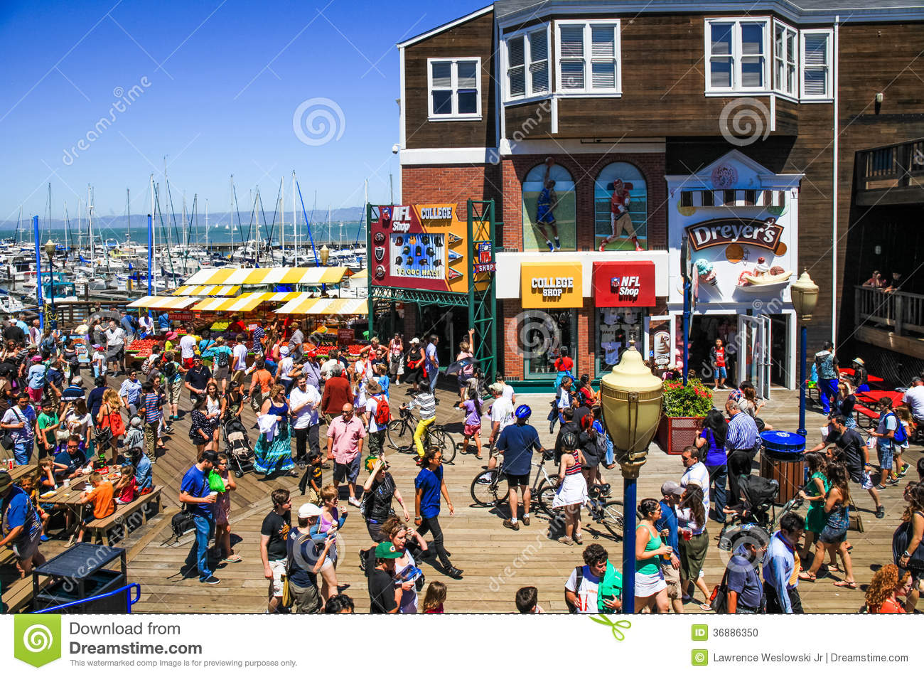 Dining Fishermans Wharf San Francisco