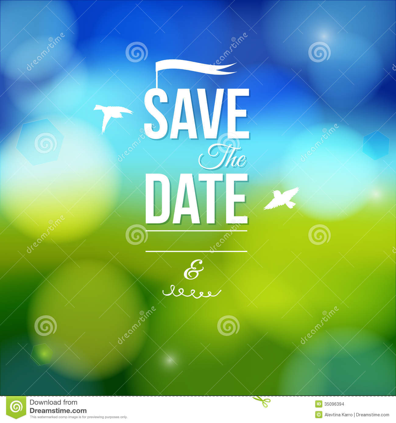 Marriage Save Date