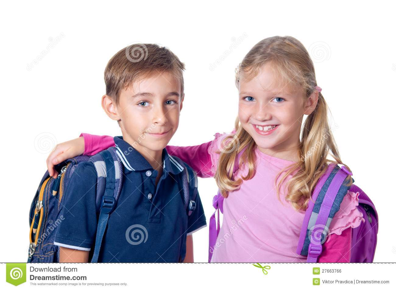 School Friends Stock Photo Image Of People Elementary