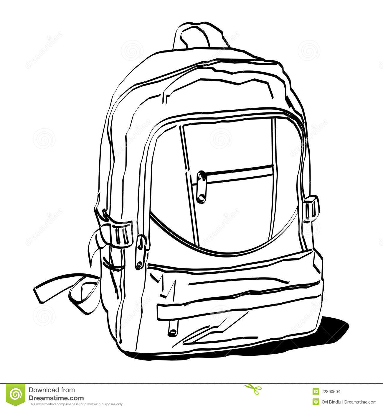 Schoolbag Stock Images