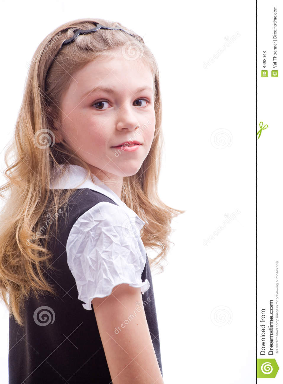 Schoolgirl Royalty Free Stock Photos Image