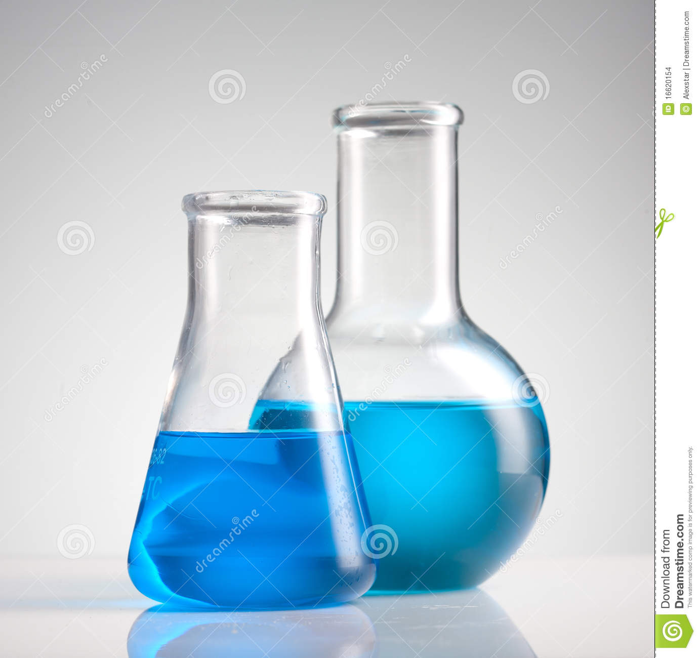 Science Beakers Stock Photo Image Of Test Chemicals