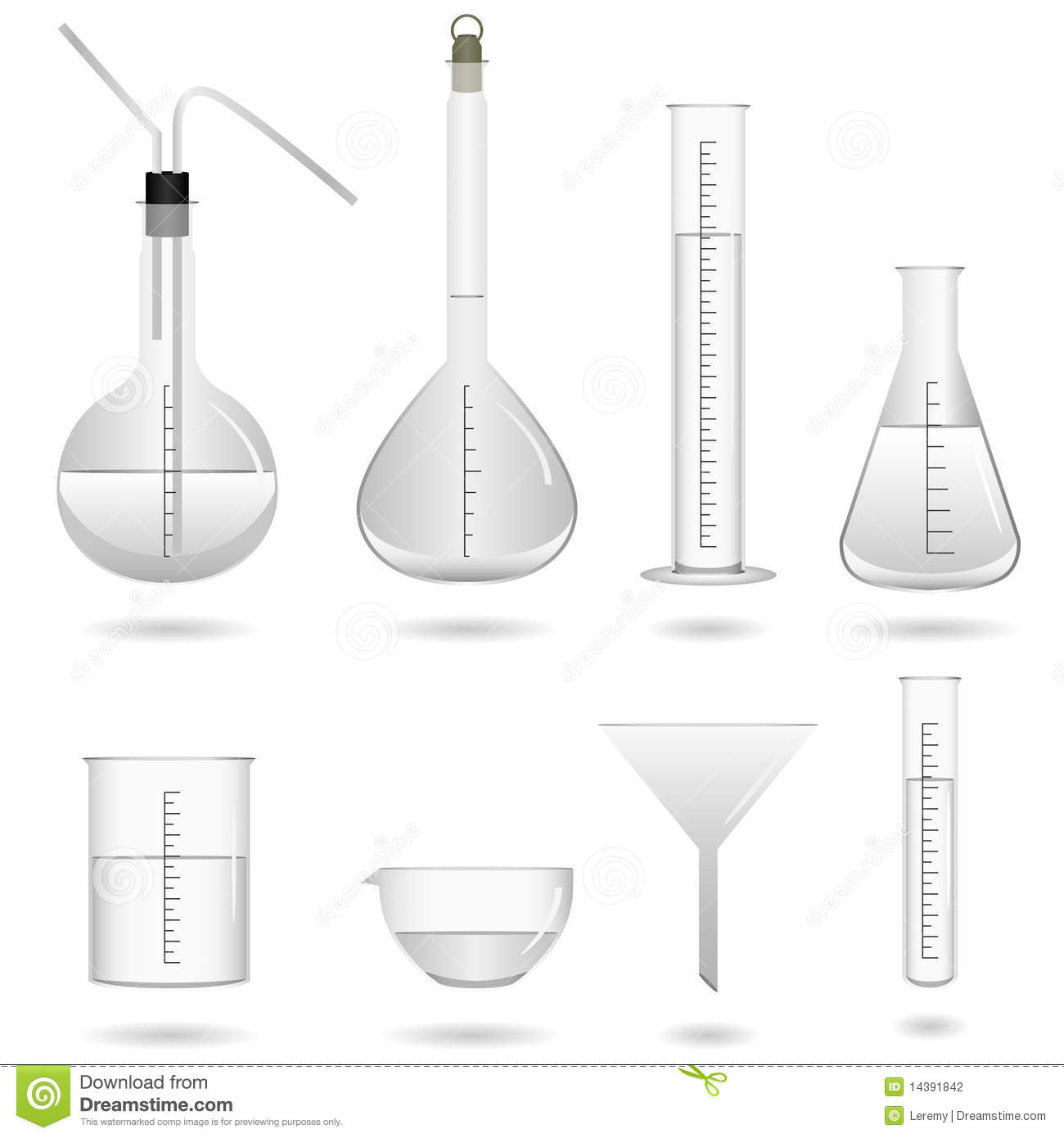 Science Chemical Lab Equipment Stock Photography