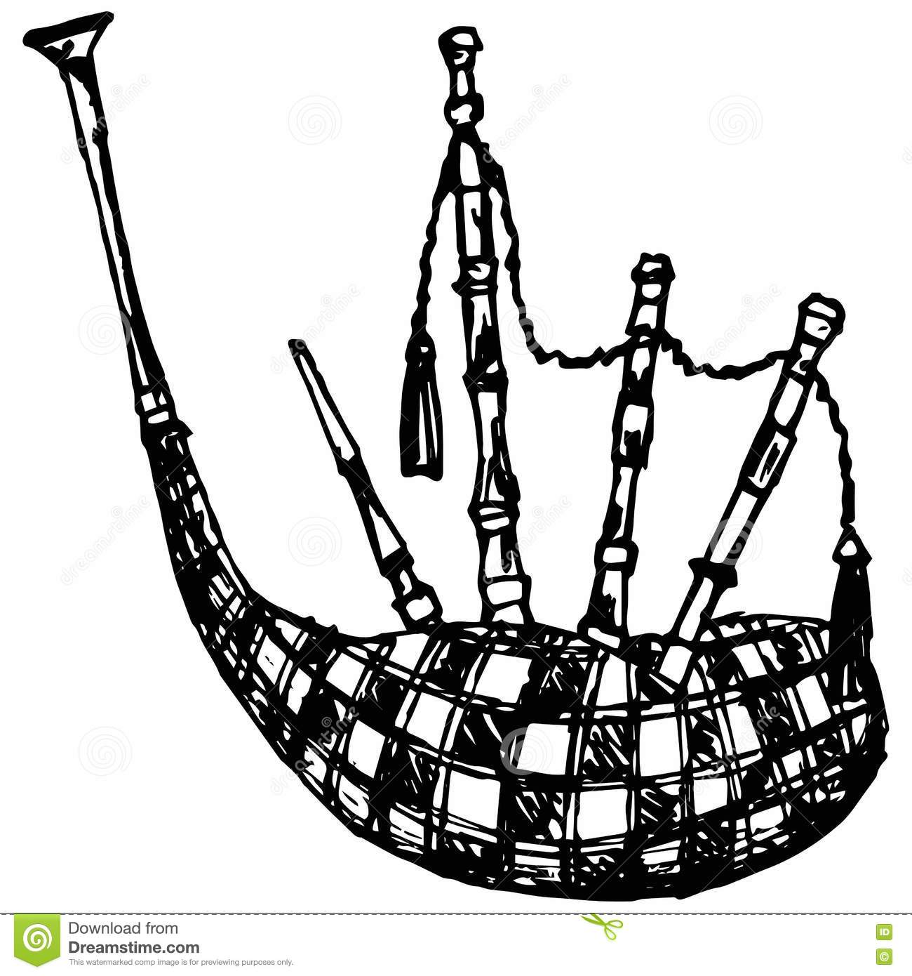Bagpipe Cartoons Illustrations Amp Vector Stock Images