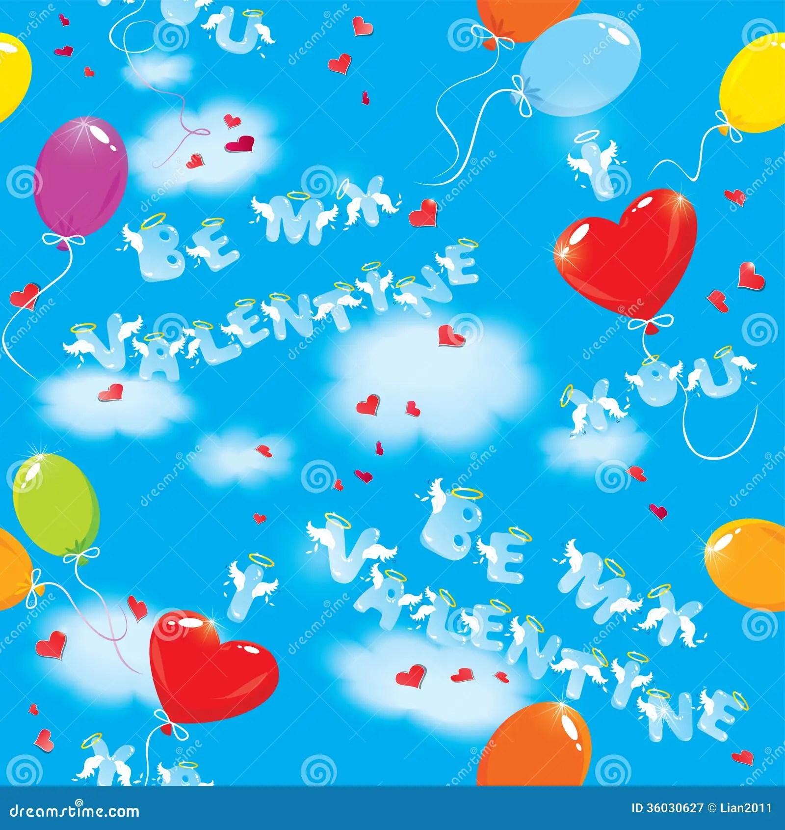 I Love You Background Blue