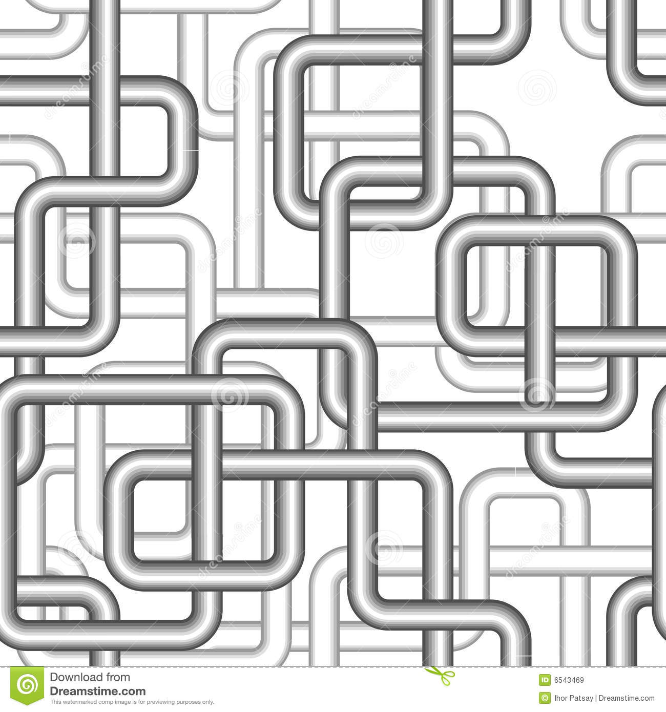 Seamless Pipe Pattern Stock Vector Image Of Painting