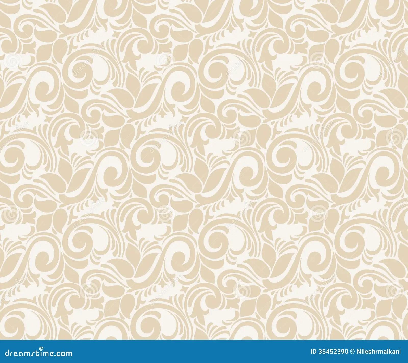 Seamless Vector Wallpaper Stock Vector Illustration Of Card 35452390