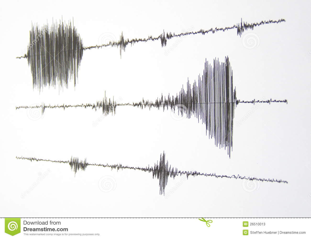 Seismograph Stock Image Image Of Disaster Natural Lines