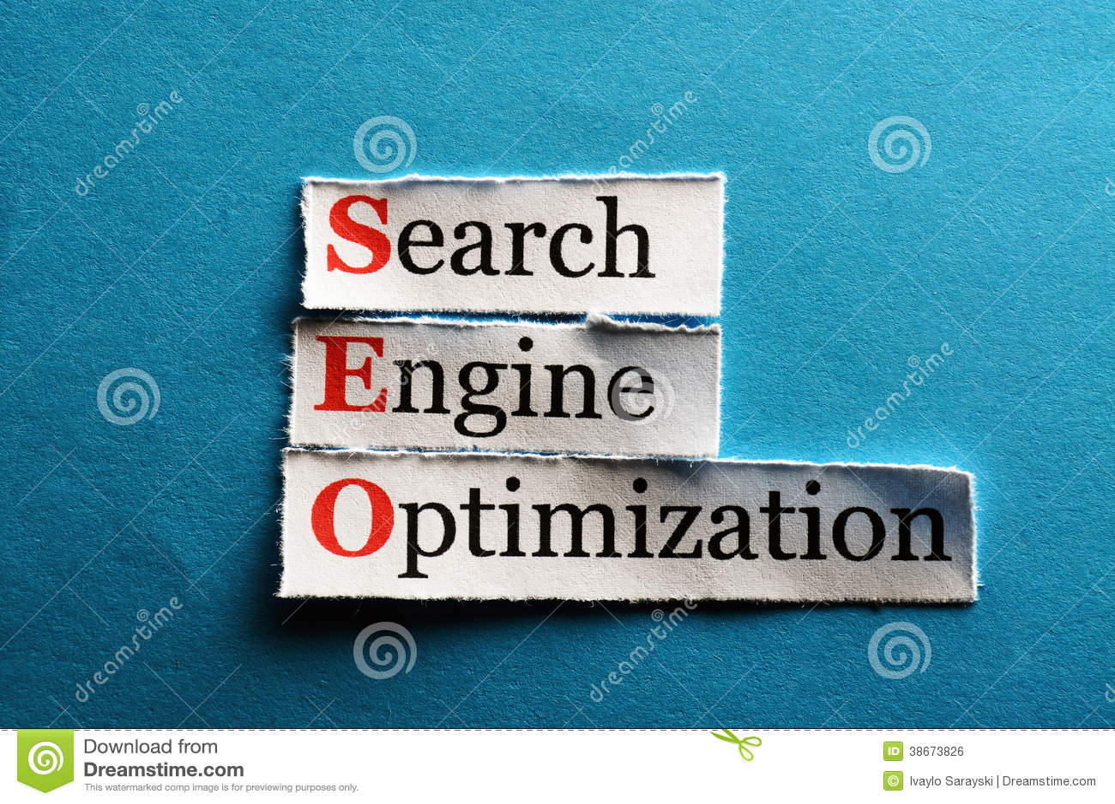 Seo Abbreviation Royalty Free Stock Image