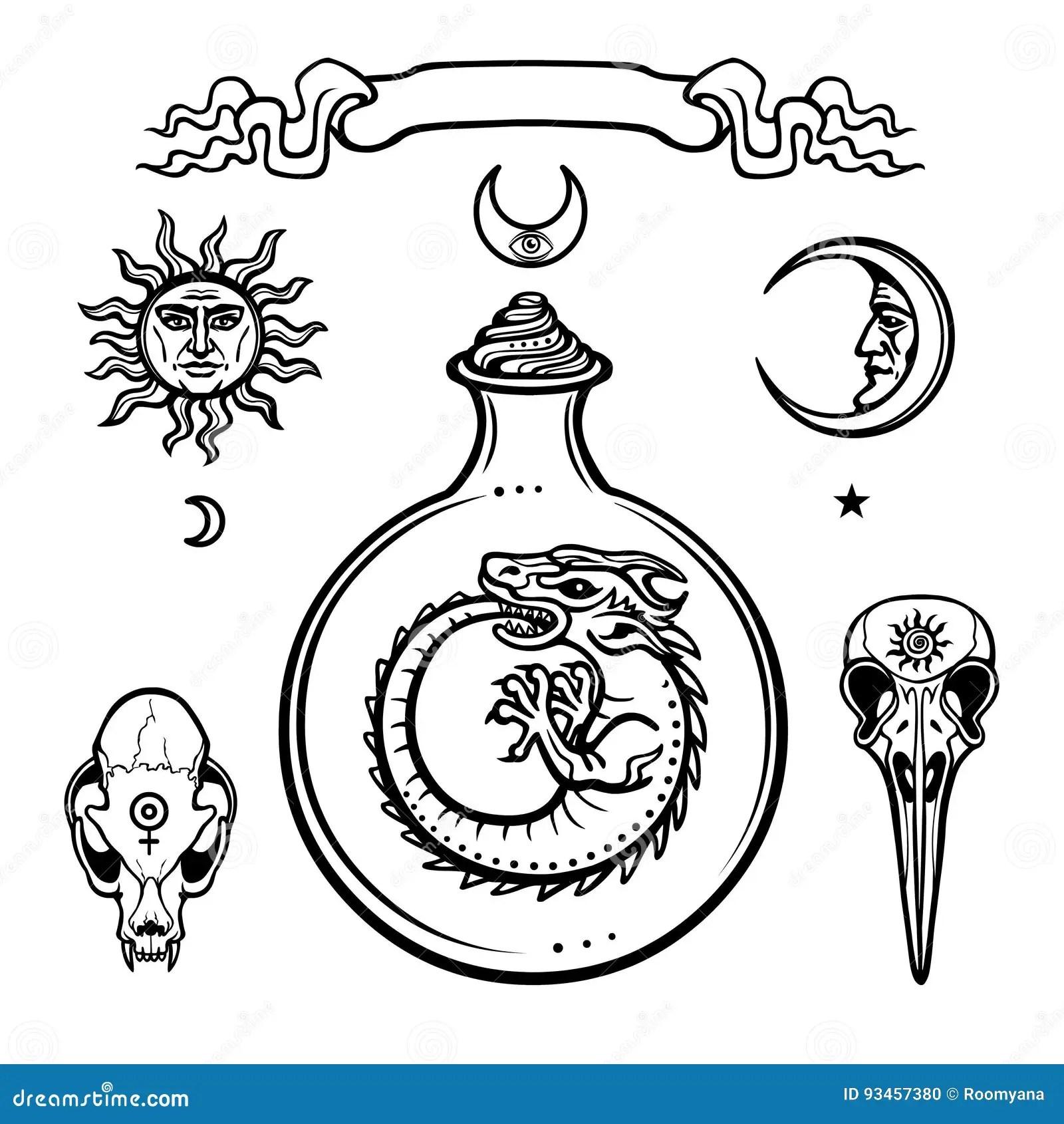 Mysticism Stock Illustrations 5 306 Mysticism Stock