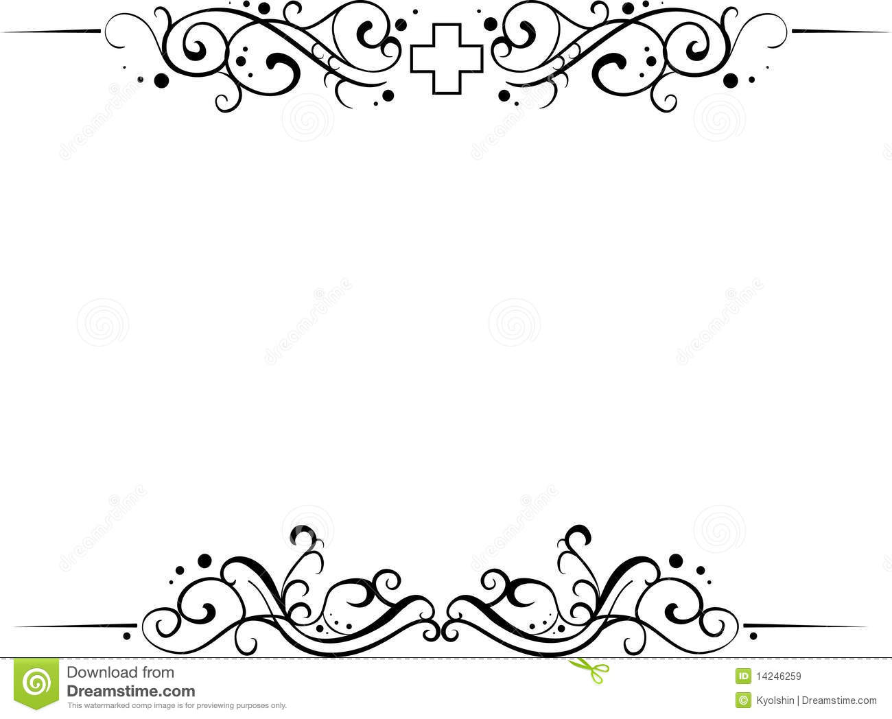 Set Of Frames Royalty Free Stock Images