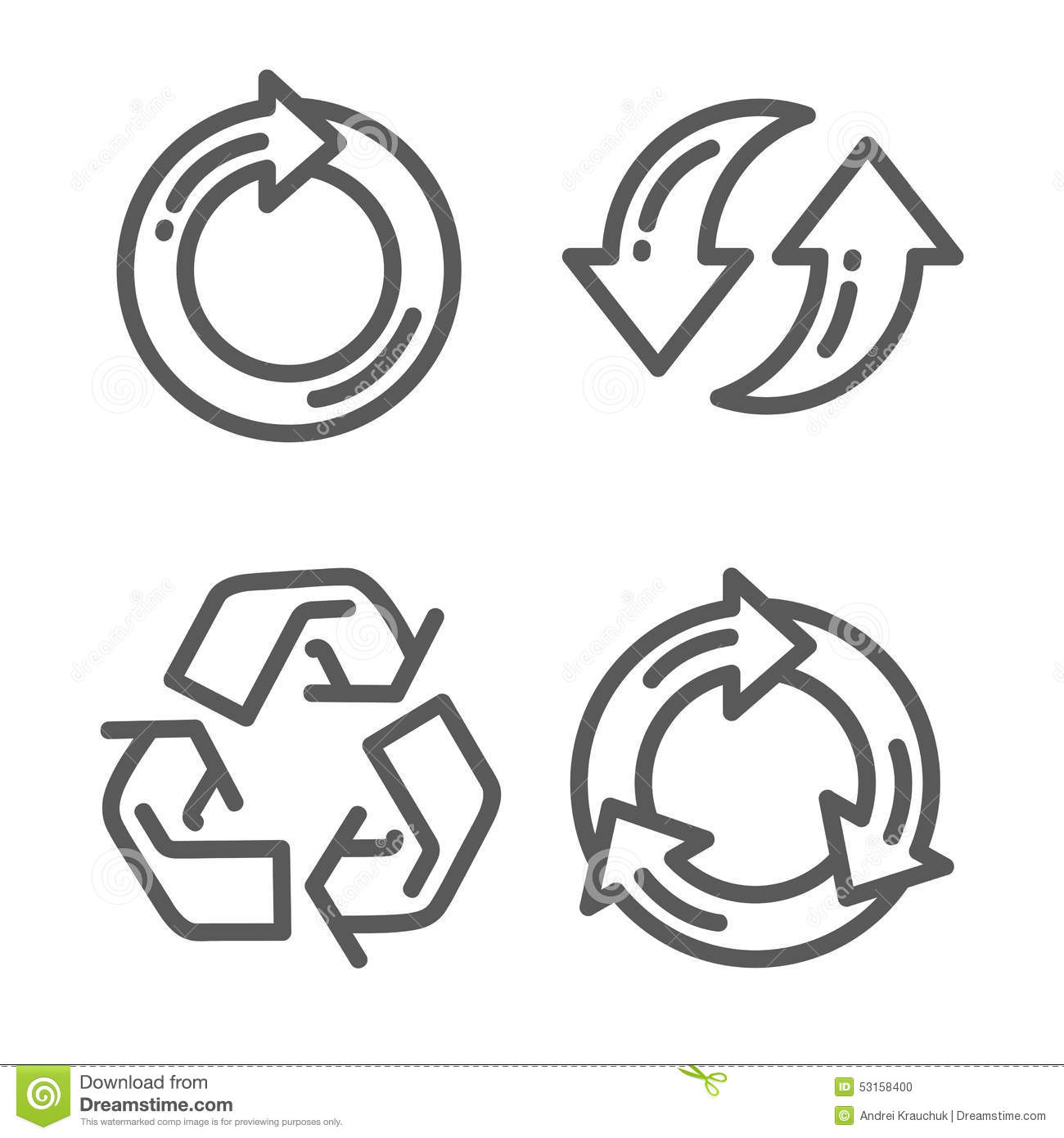 no recycling symbol