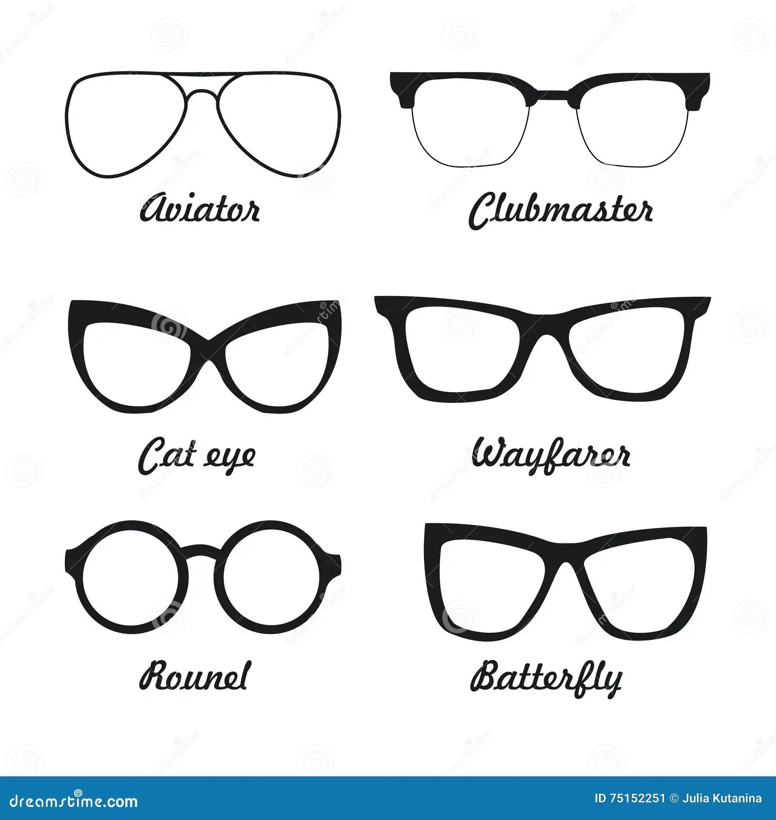 Different Kinds Of Glasses Frames