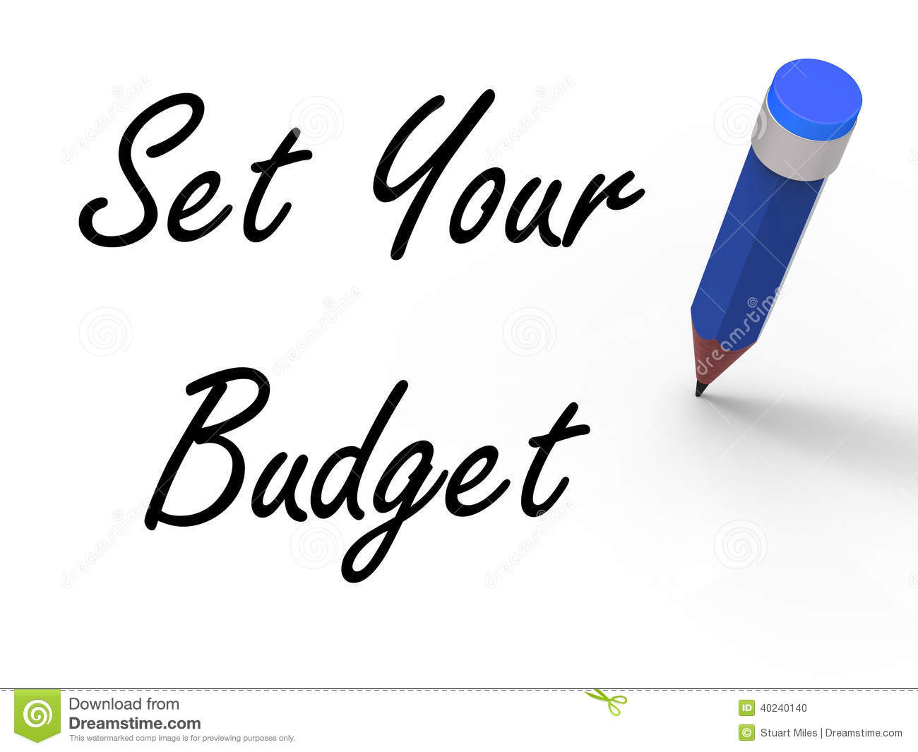How To Budget Your Own Salary Vector Illustration