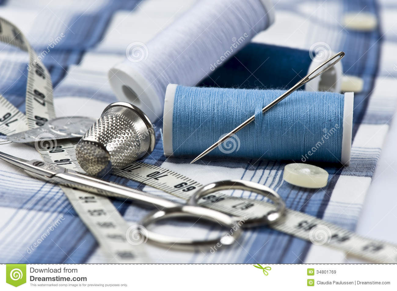 Sewing Utensils Stock Image Image Of Tailoring Tailor