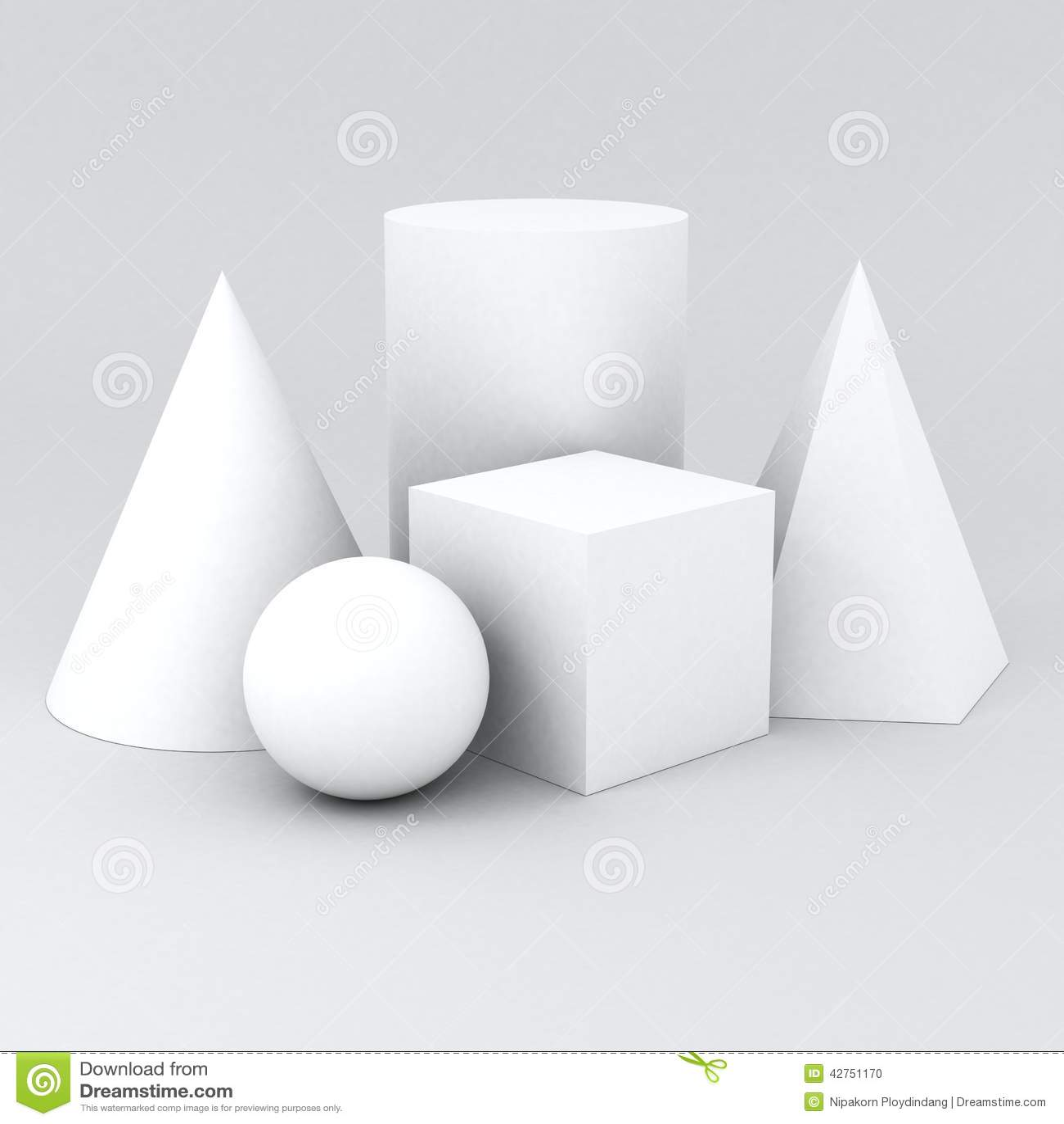 Shape Geometry Stock Illustration Illustration Of Block