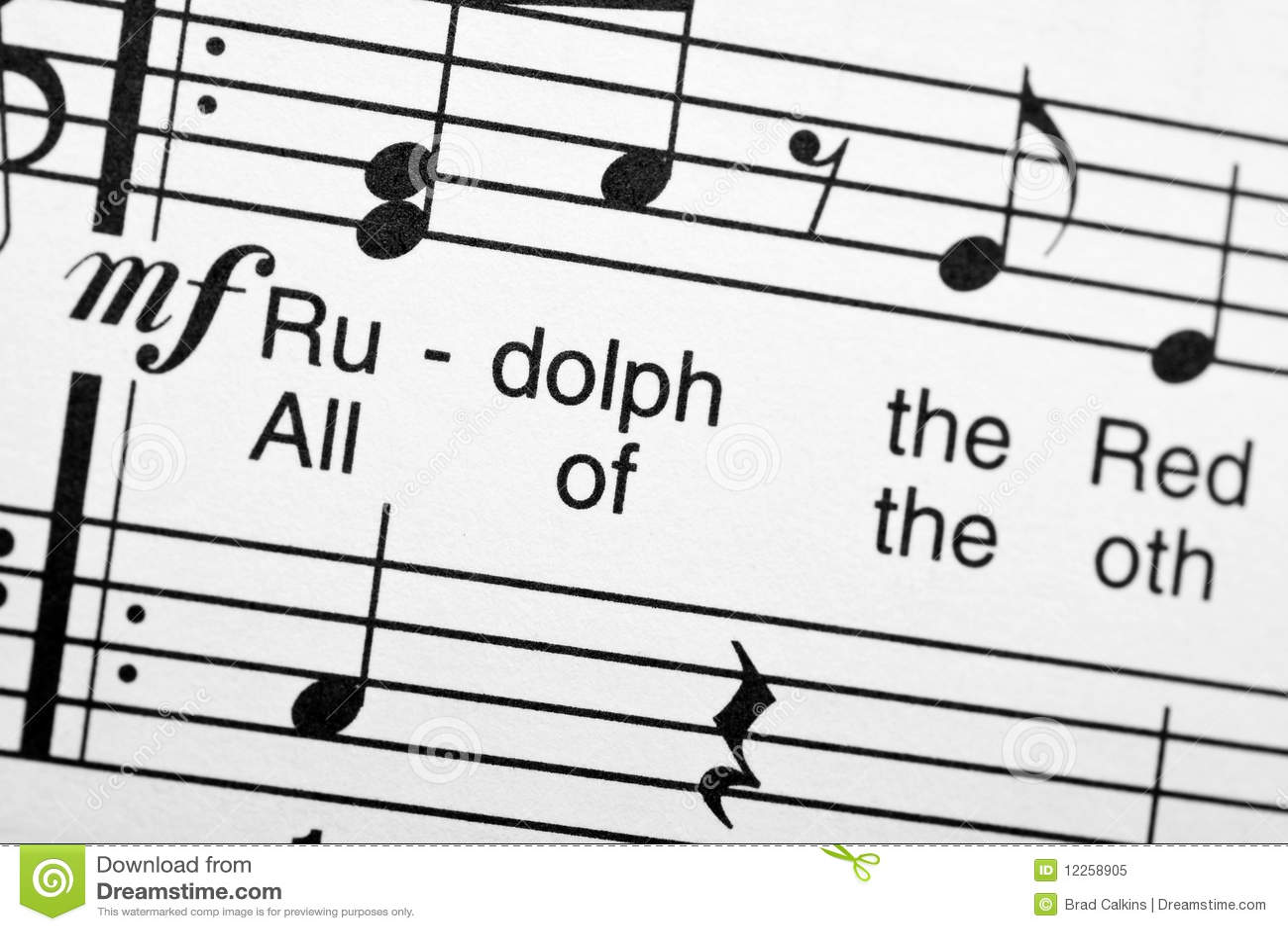 Sheet Music Stock Image Image Of Notes Carol Song