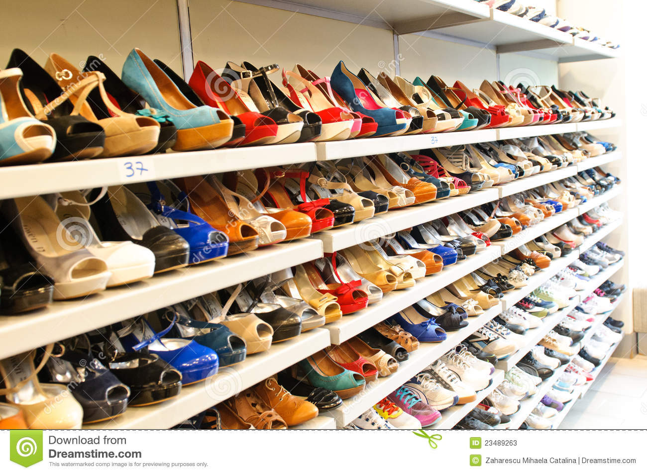 Shoe Store In Milan Editorial Stock Photo Image Of Shoes