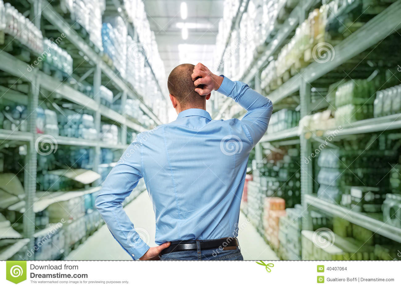 Shopping Problem Stock Photo Image Of Solution Warehouse