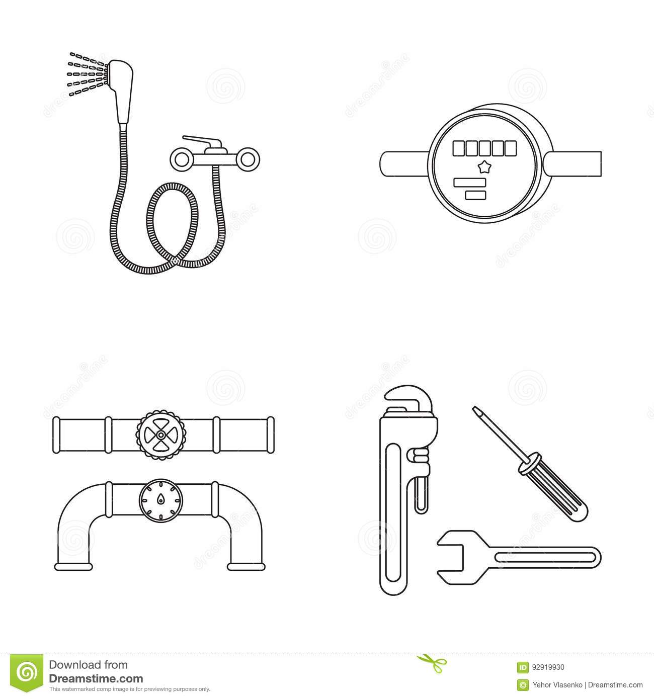 Faucet Cartoons Illustrations Amp Vector Stock Images
