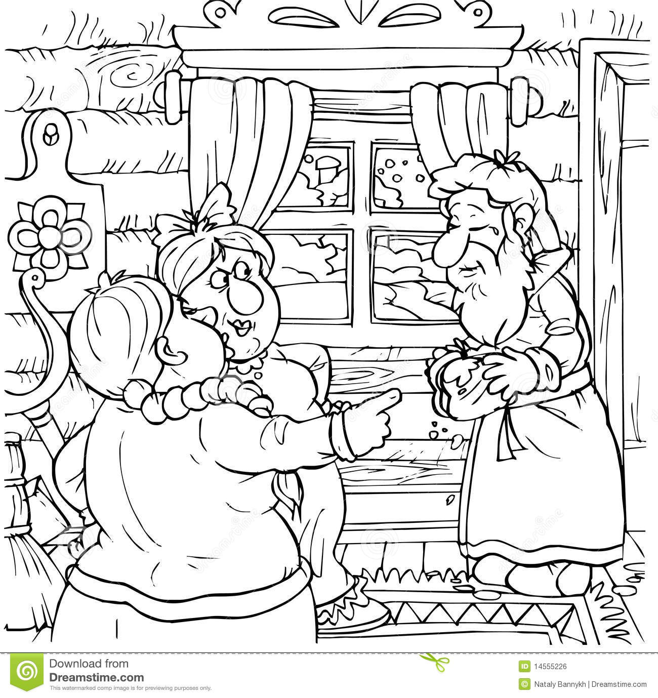 Shrew Printable Coloring Pages