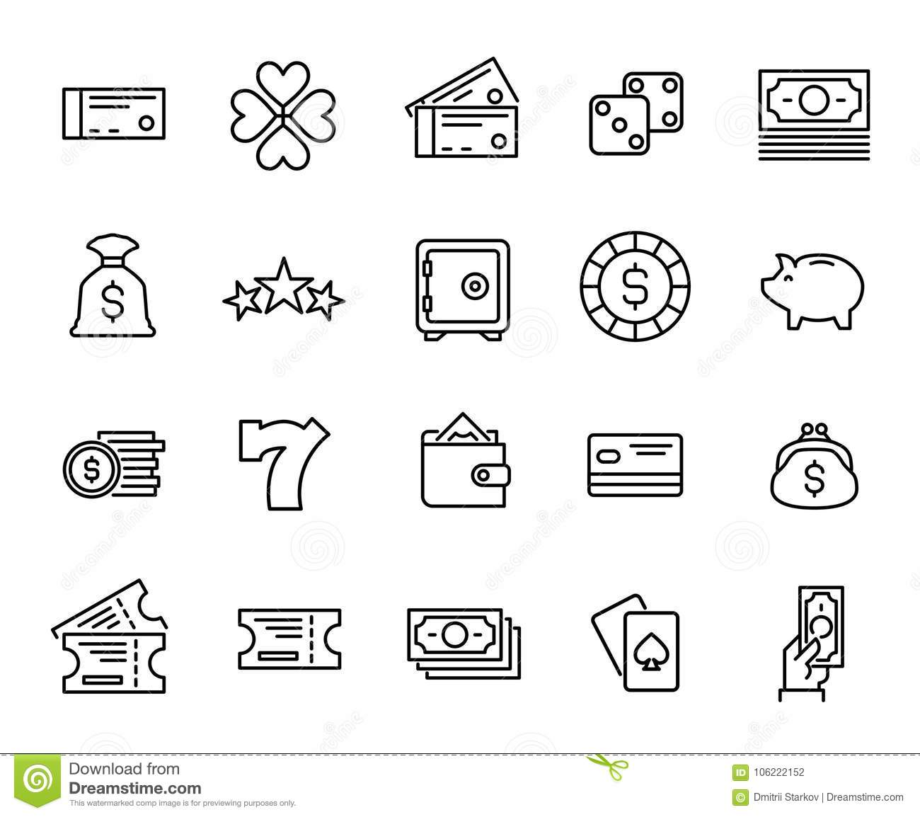 Business Infographic Illustration 9 Bonus Icons Vector