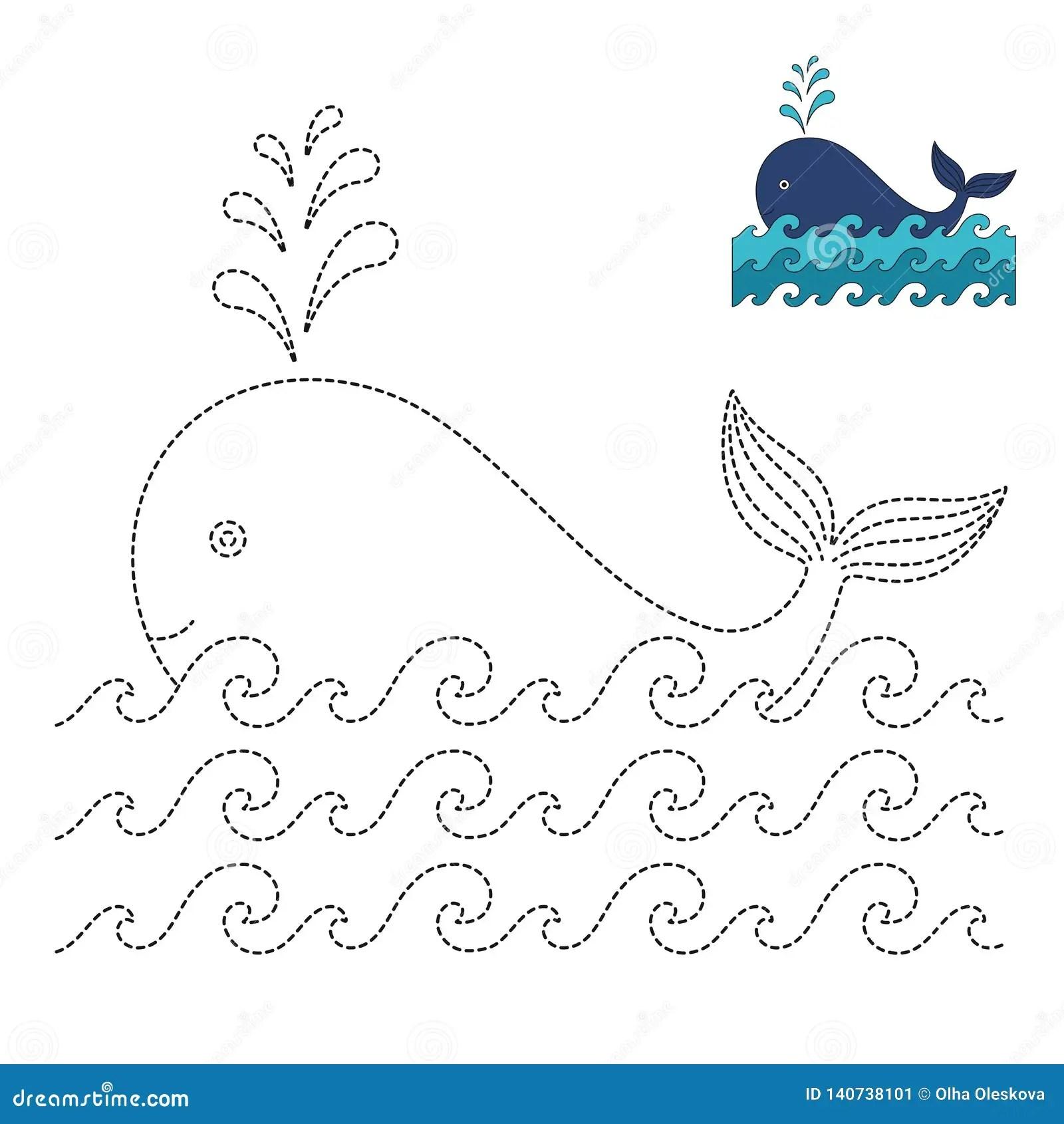 Whale Preschool Art