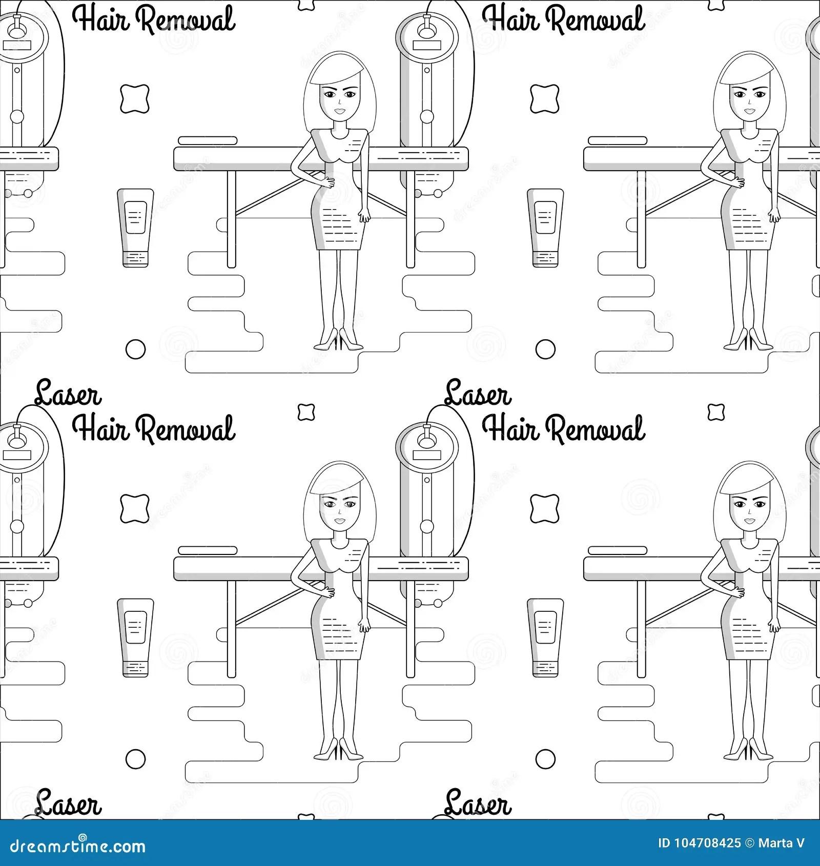 Spa Salon Infographics Set With Beauty Care Symbols Vector