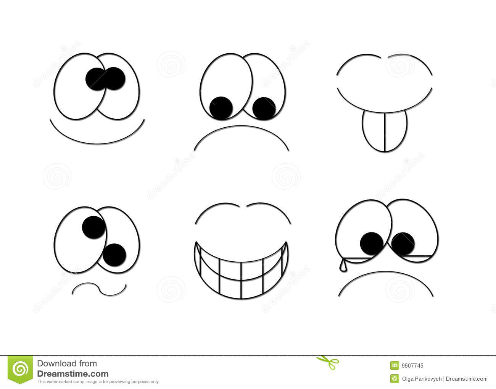 Simple Smiles Royalty Free Stock Photo
