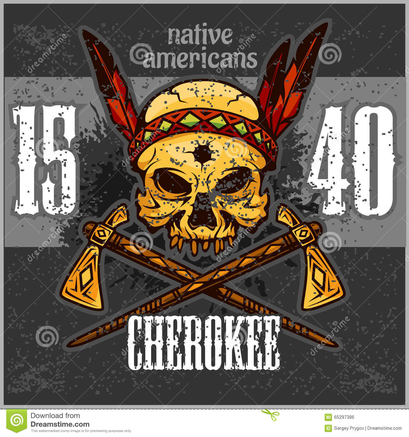 Cherokee Native American Symbol For Strength