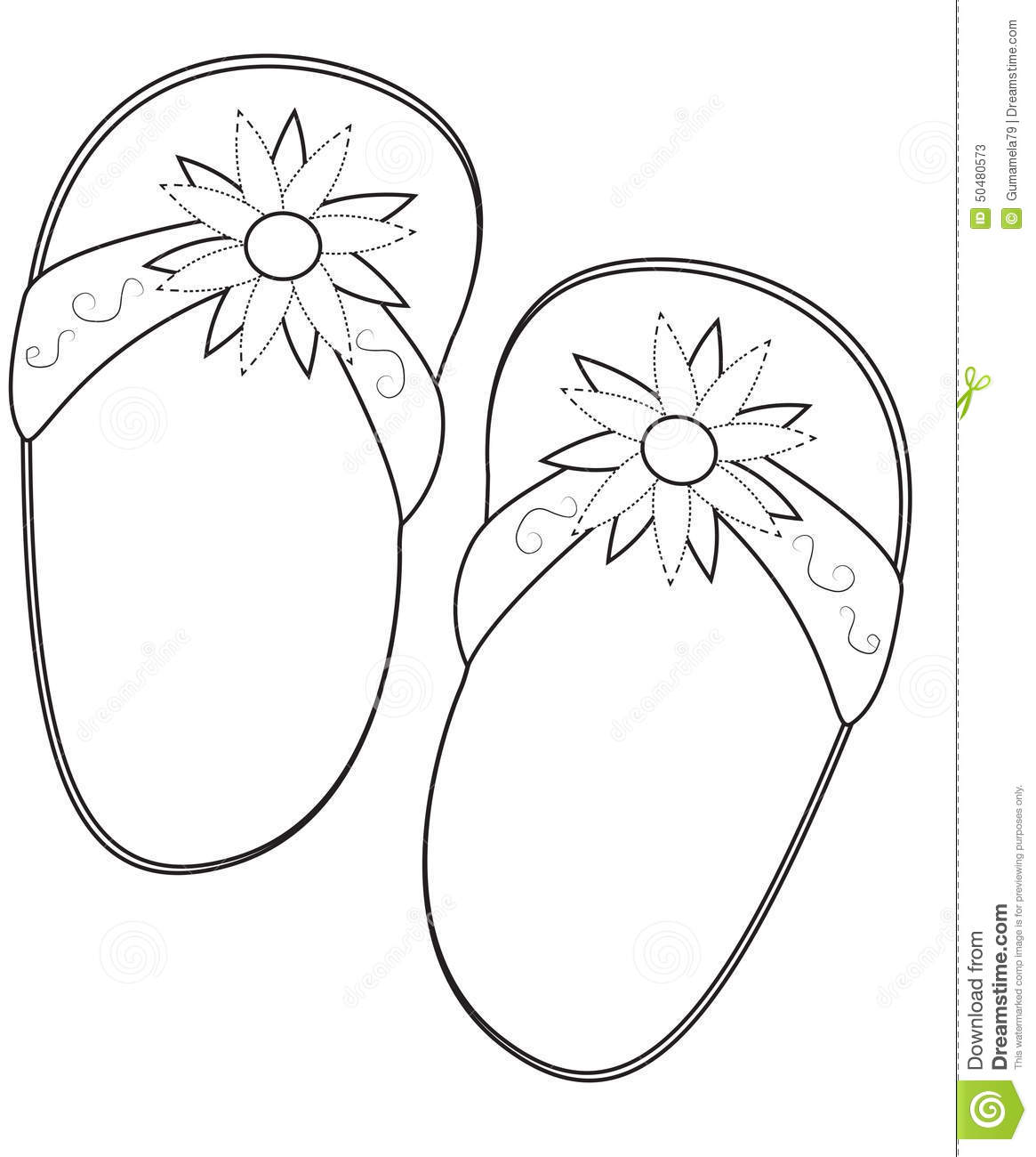 Slippers Cartoons Illustrations Amp Vector Stock Images