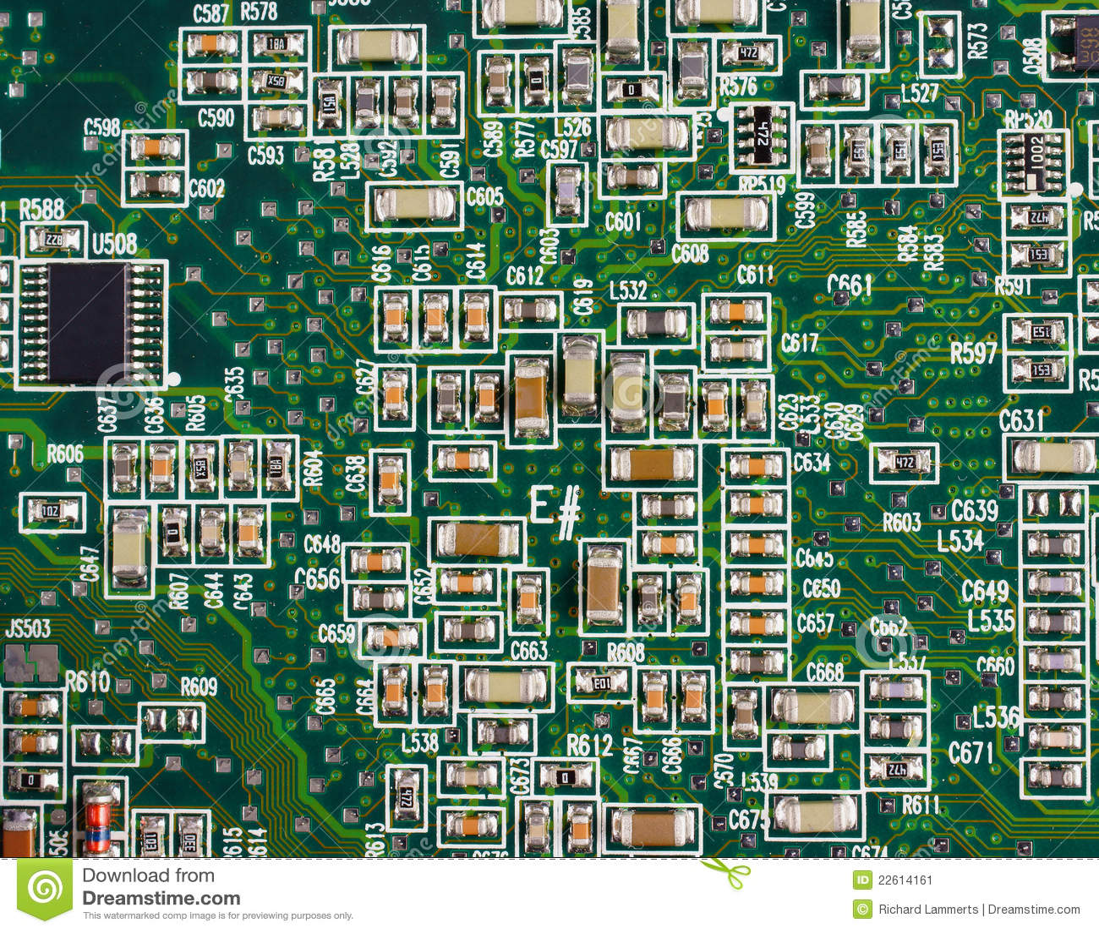 Computer Circuit Board Parts
