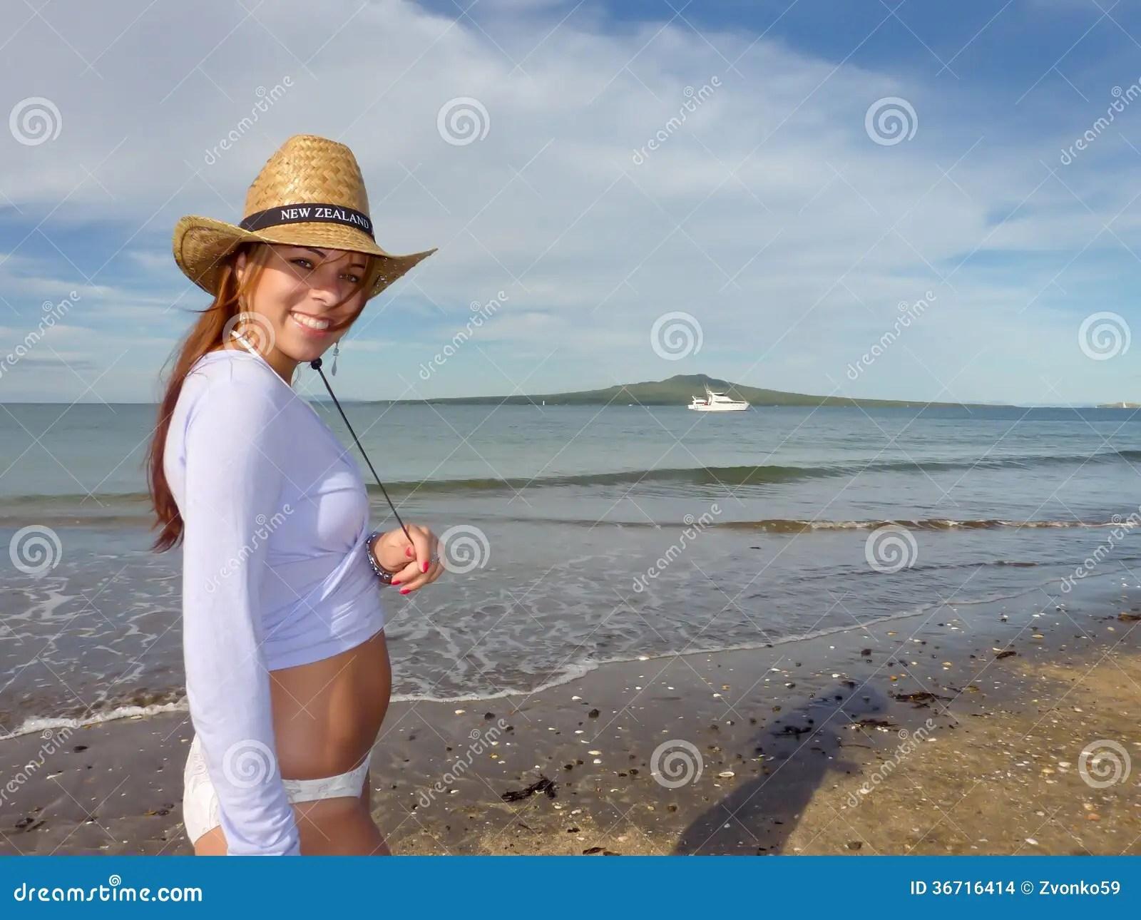Smily New Zealand Girl Stock Images Image 36716414