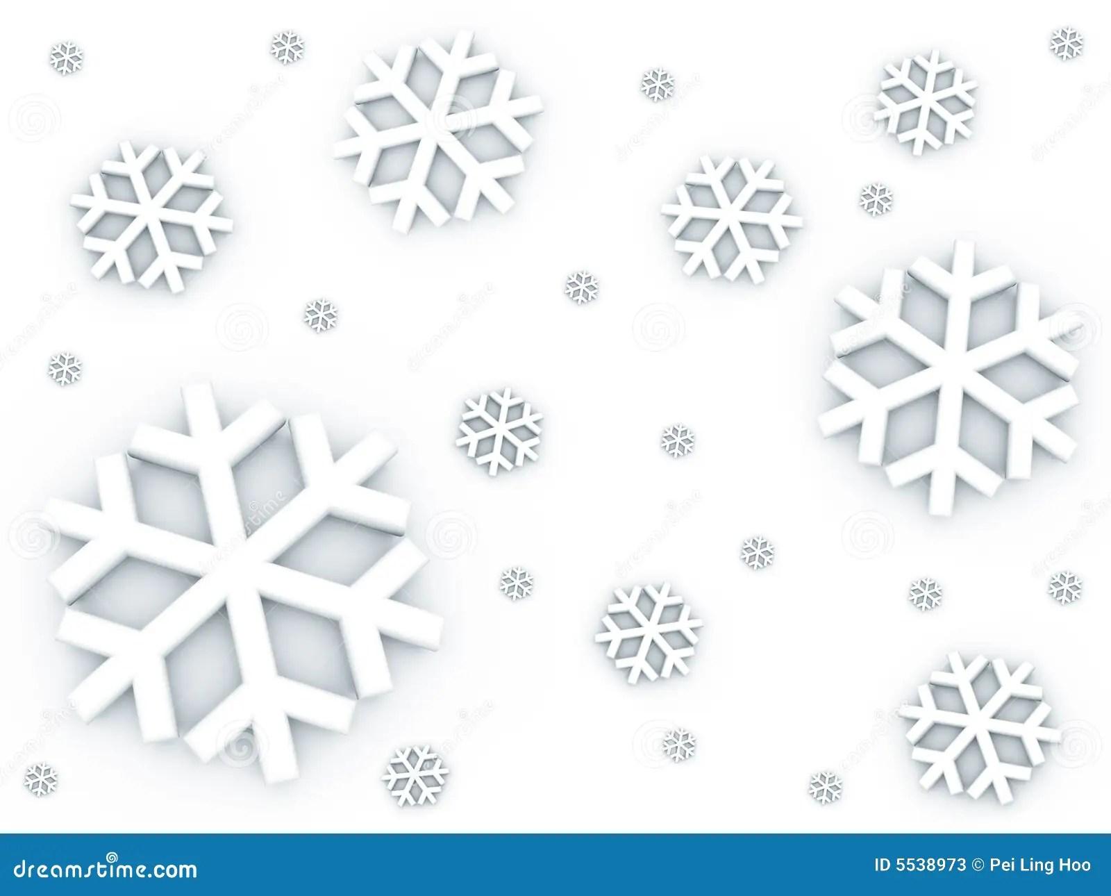 Snow Falling Down Pattern Stock Illustration Illustration
