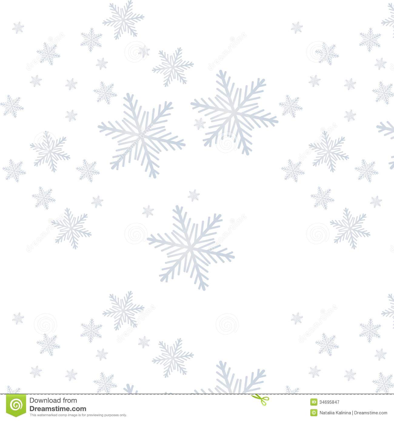 Snowflake On A Paper Background Royalty Free Stock