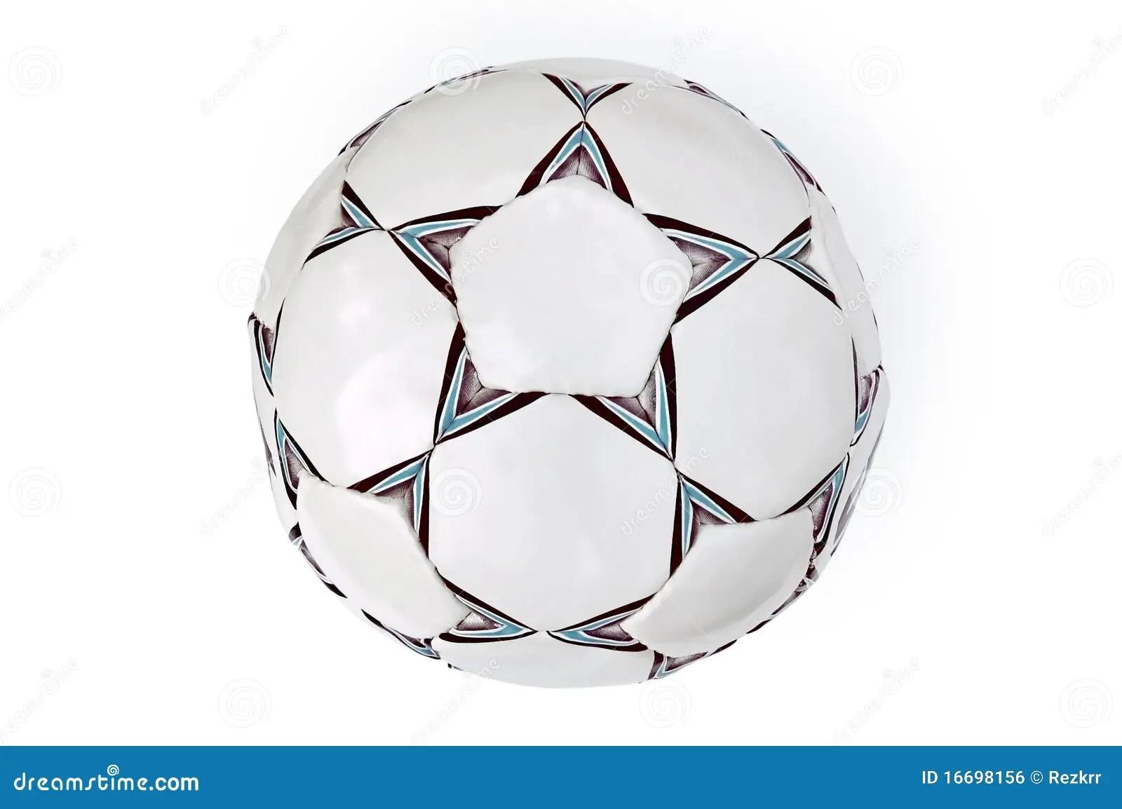 Soccer Ball Stock Photo Image Of Pentagon Soccer White