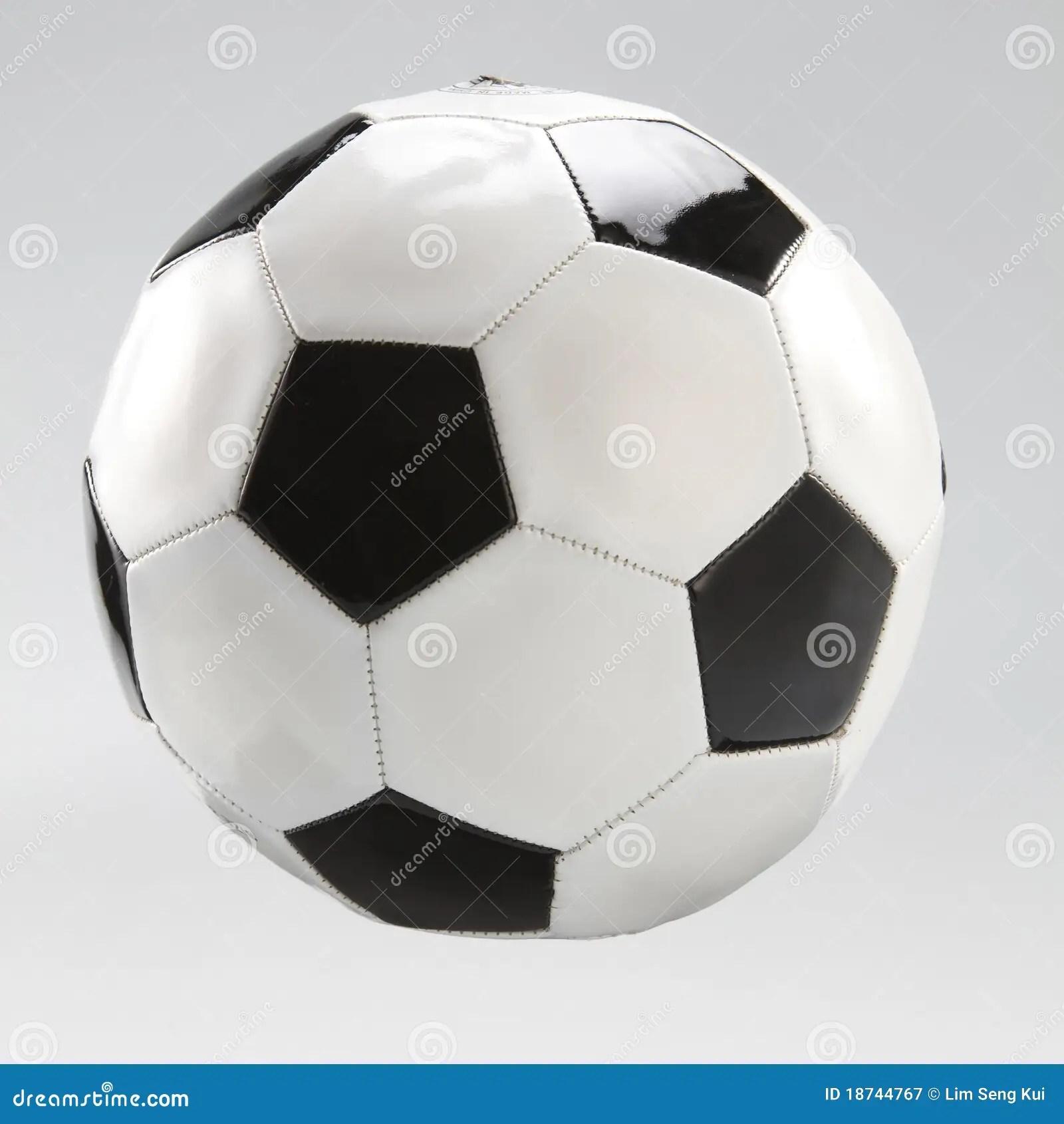 Soccer Ball Stock Image Image Of Background Pentagon