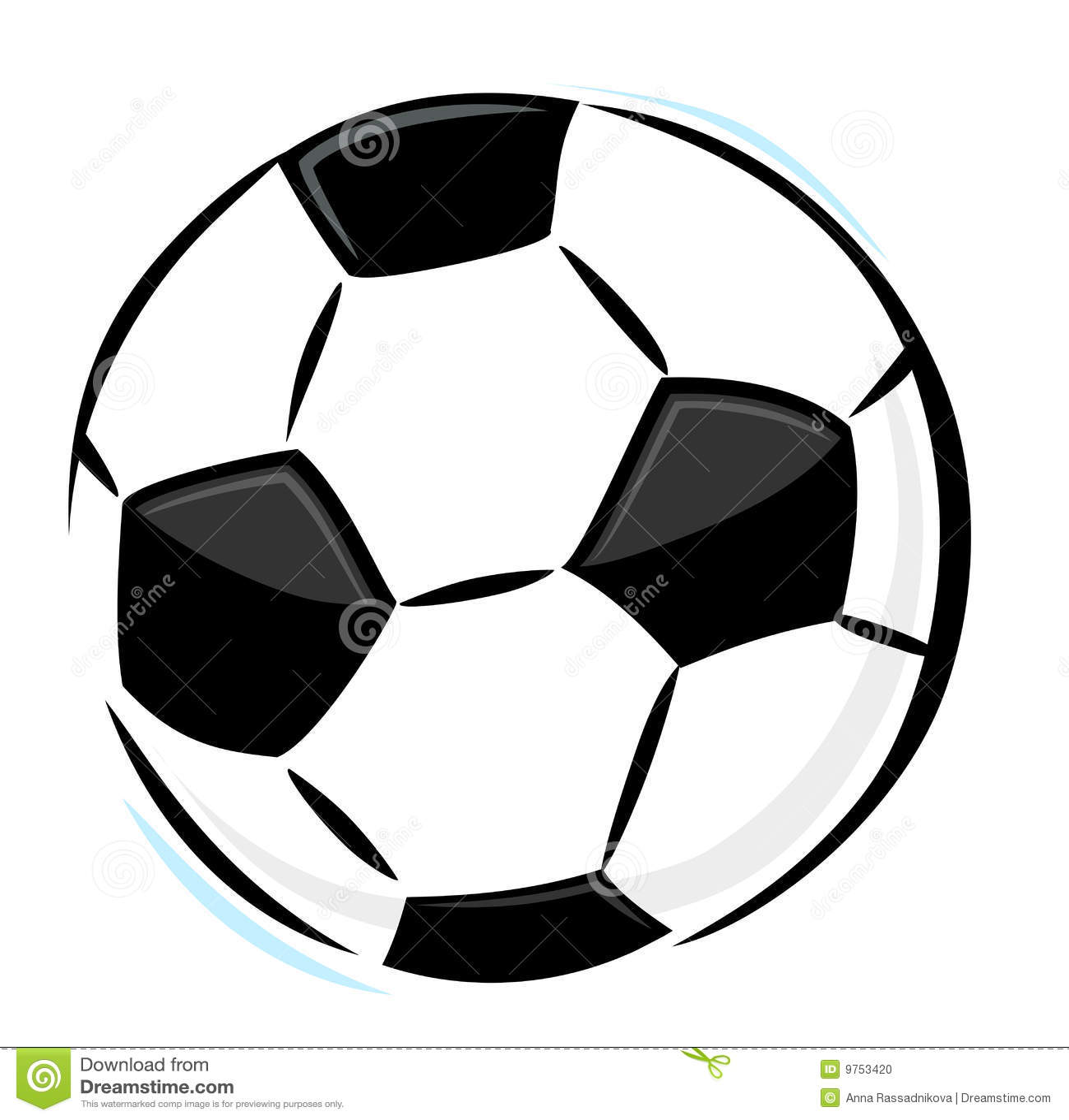 Soccer Ball Stock Vector Illustration Of Pentagon Symbol